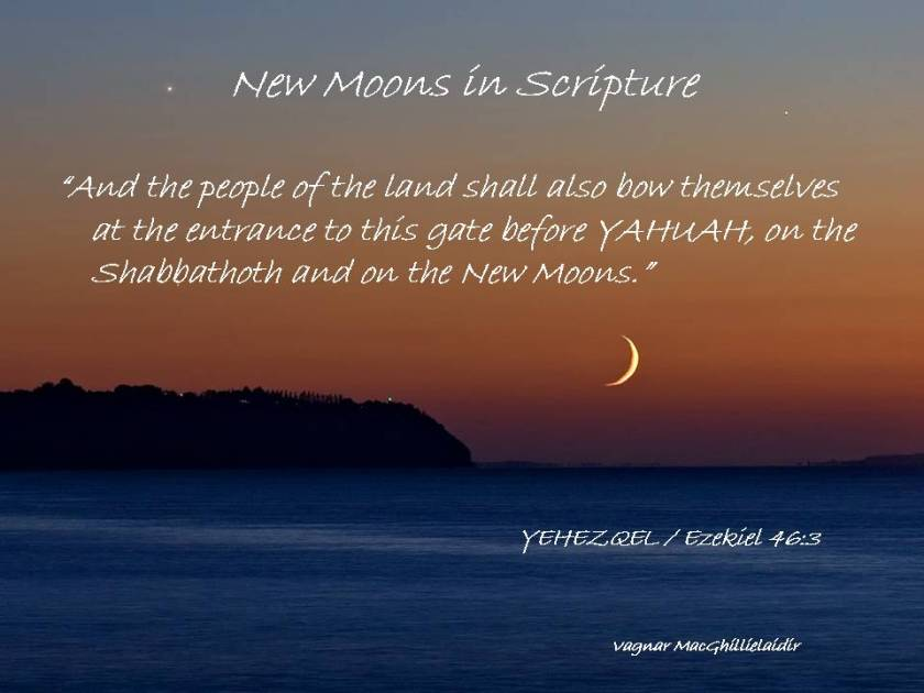 NEW MOON DAYS IN SCRIPTURE 10