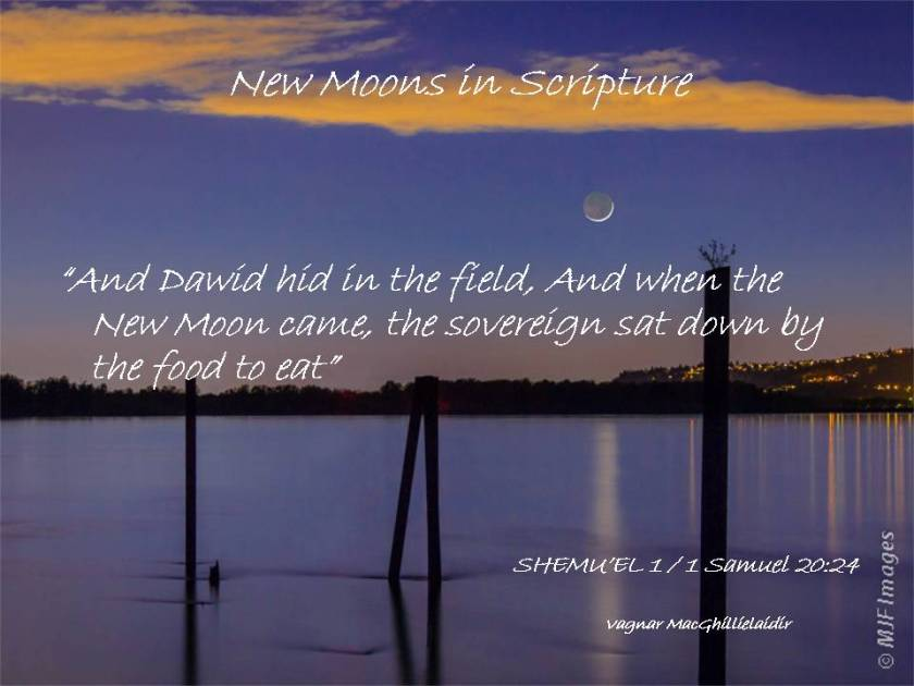 NEW MOON DAYS IN SCRIPTURE 3
