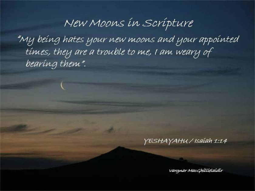 NEW MOON DAYS IN SCRIPTURE 6