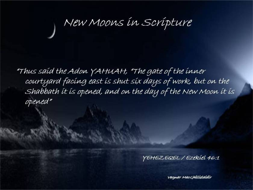 NEW MOON DAYS IN SCRIPTURE 9